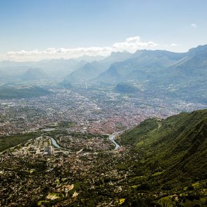 Grenoble agglomération Eybens montagnes