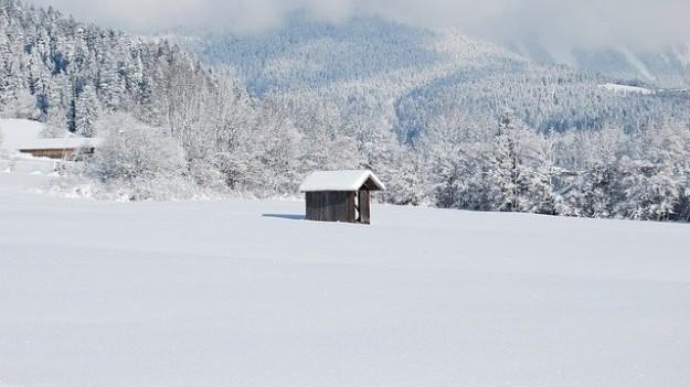 neige maison chartreuse