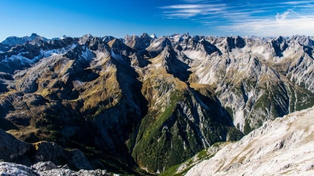 Montagnes decors paysages des alpes (ski)