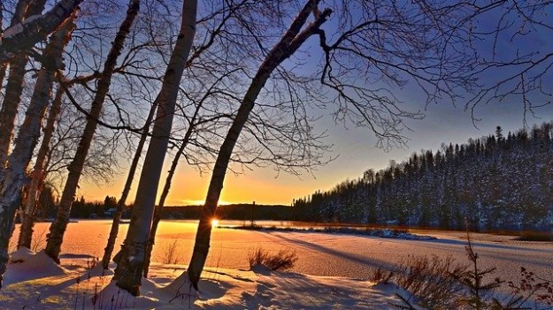 Lumière coucher de soleil   couleur de l'huile